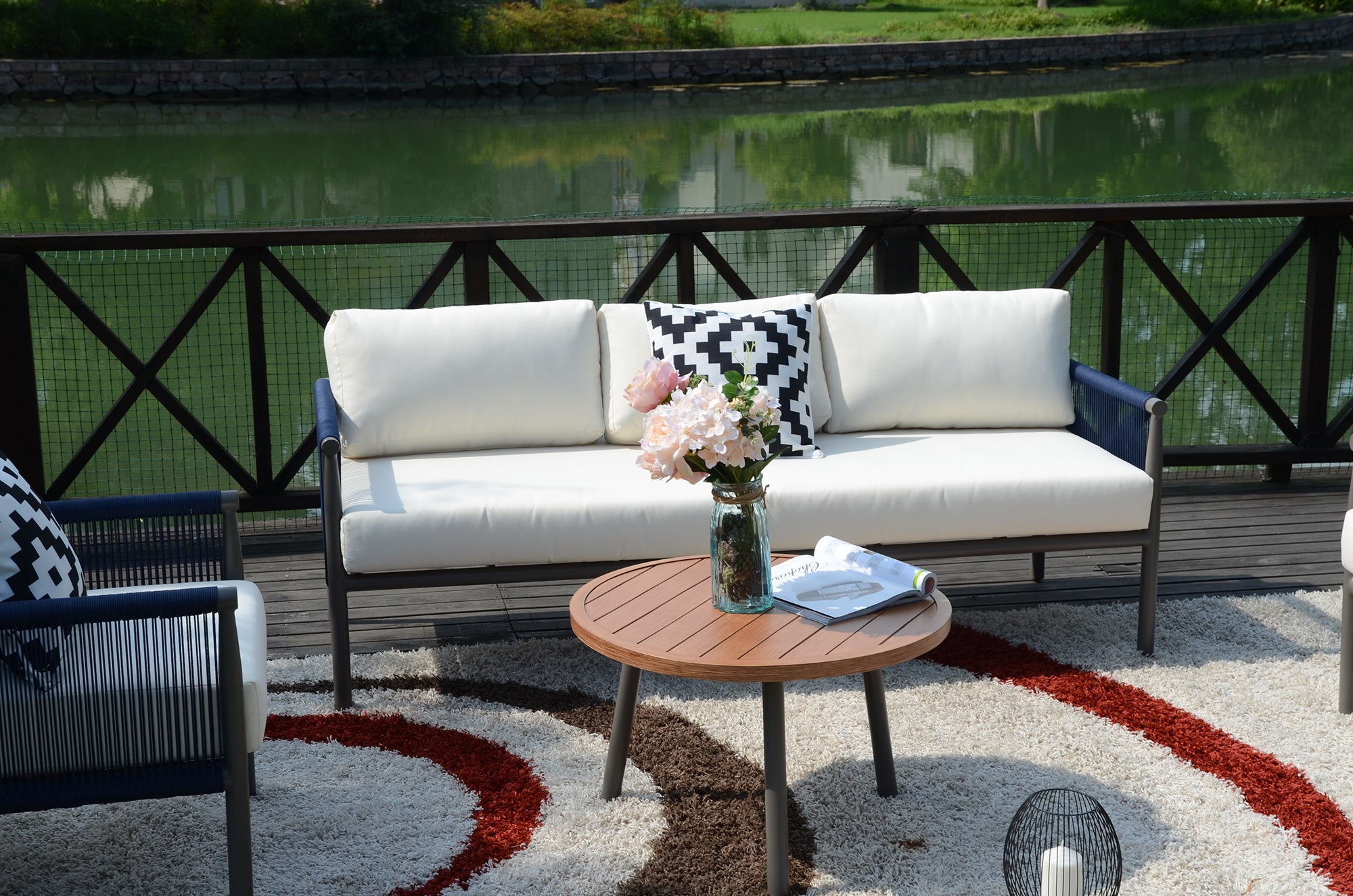 Claire Outdoor Sofa Set - 5 Pcs (PREORDER)