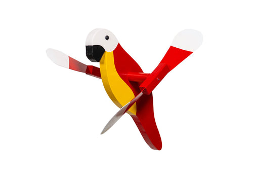 Whirlybirds Red Parrot