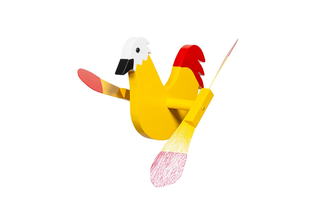 Whirlybirds Yellow Chicken