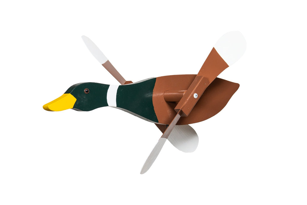 Whirlybirds Mallard Duck