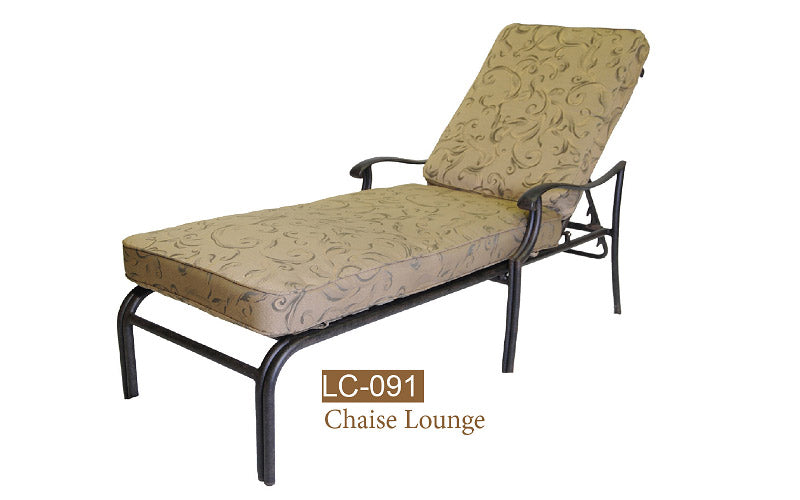 Ivyland Welded Chaise Lounge 2pc