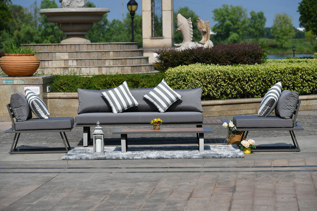 Ferme Collection Outdoor Sofa Set - 4 Pcs (PREORDER)