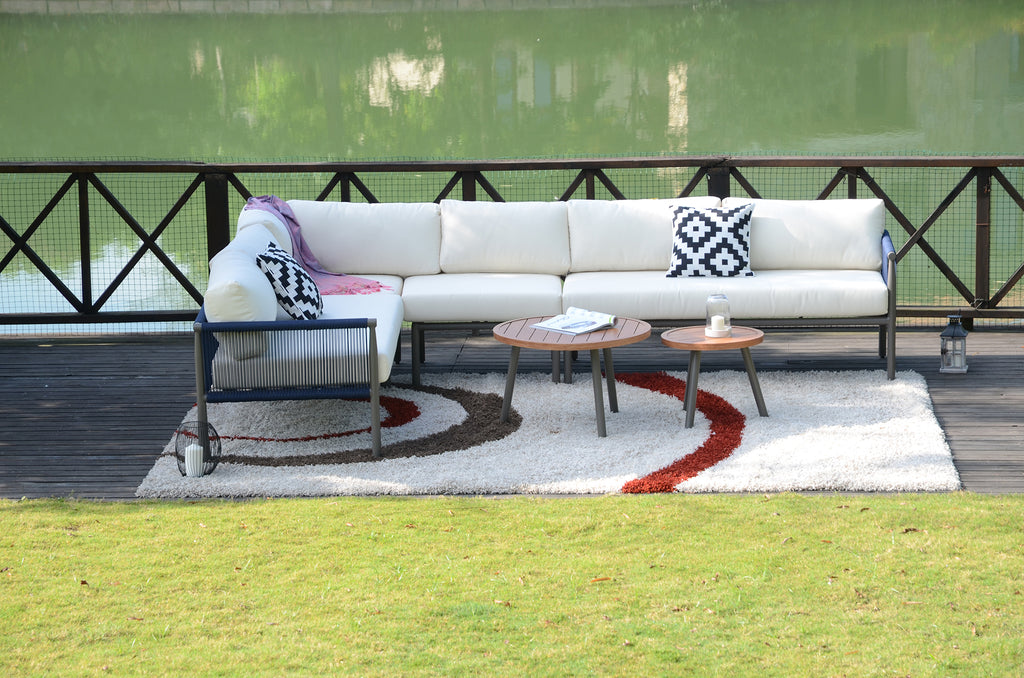 Claire Outdoor Sectional - 6 Pcs (PREORDER)