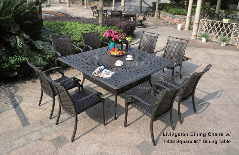 SQ Dining Table 1pc