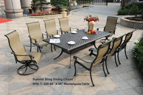 Rect. Dining Table 1pc