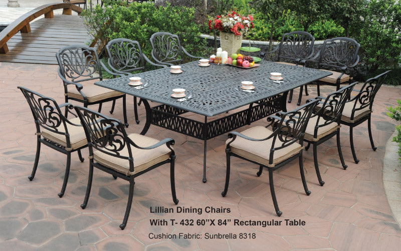 Rect.Dining Table 1pc