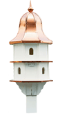 Copper Top Large Bird House