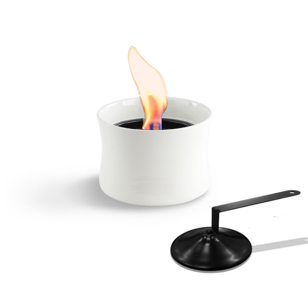 Lovinflame Ceramic Candle Deluxe - White