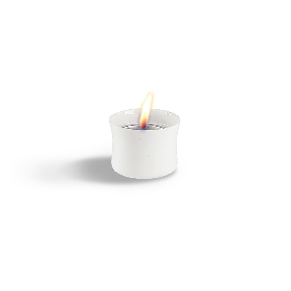 Lovinflame Ceramic Candle Classic - White