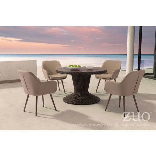 Noe dining table with Pismo chairs by Zuo Modern. Get yours here now with free shipping nationwide. Mr. backyard's New Jersey showroom has the largest selection of Zuo Modern furniture in the East Coast. We price match and have a fast fulfillment time frame.  Available on www.mrbackyard.com for less than other retailers.