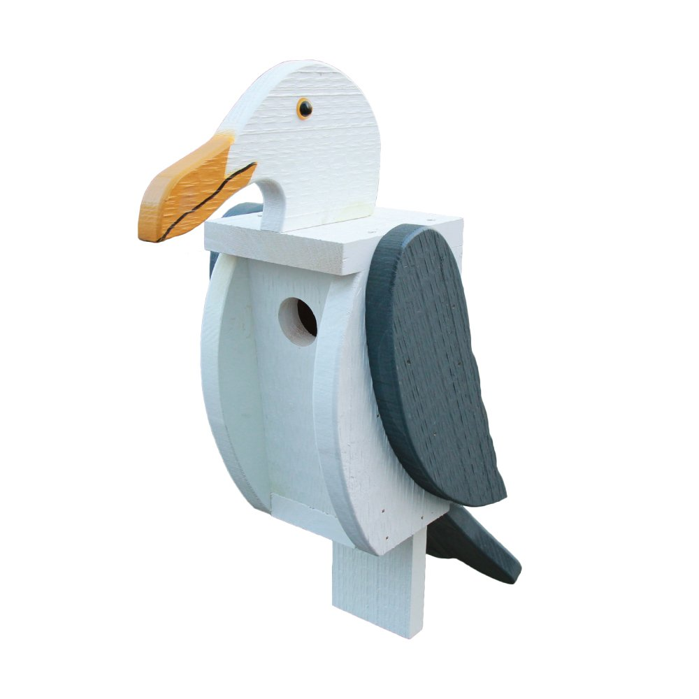 Seagull bird houses