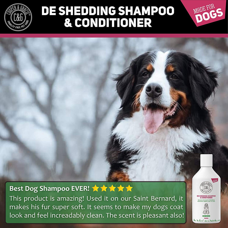 De Shedding Shampoo & Conditioner 500ML