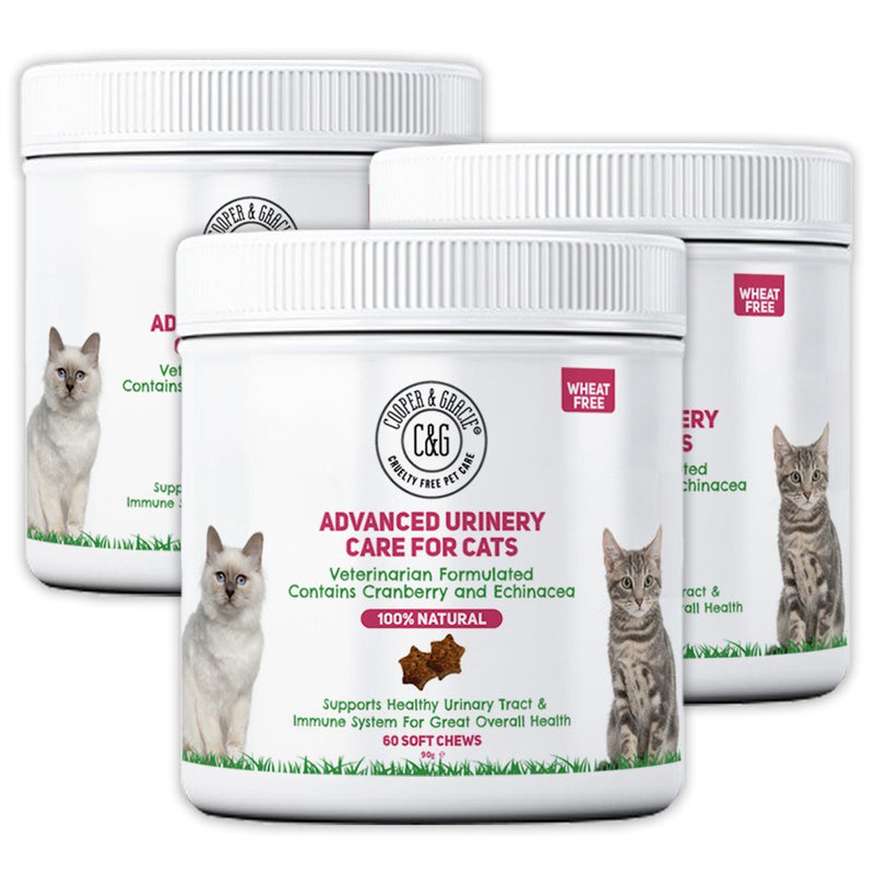 Cat Urinary Health Supplements 60 Soft Chews (4597968273463)