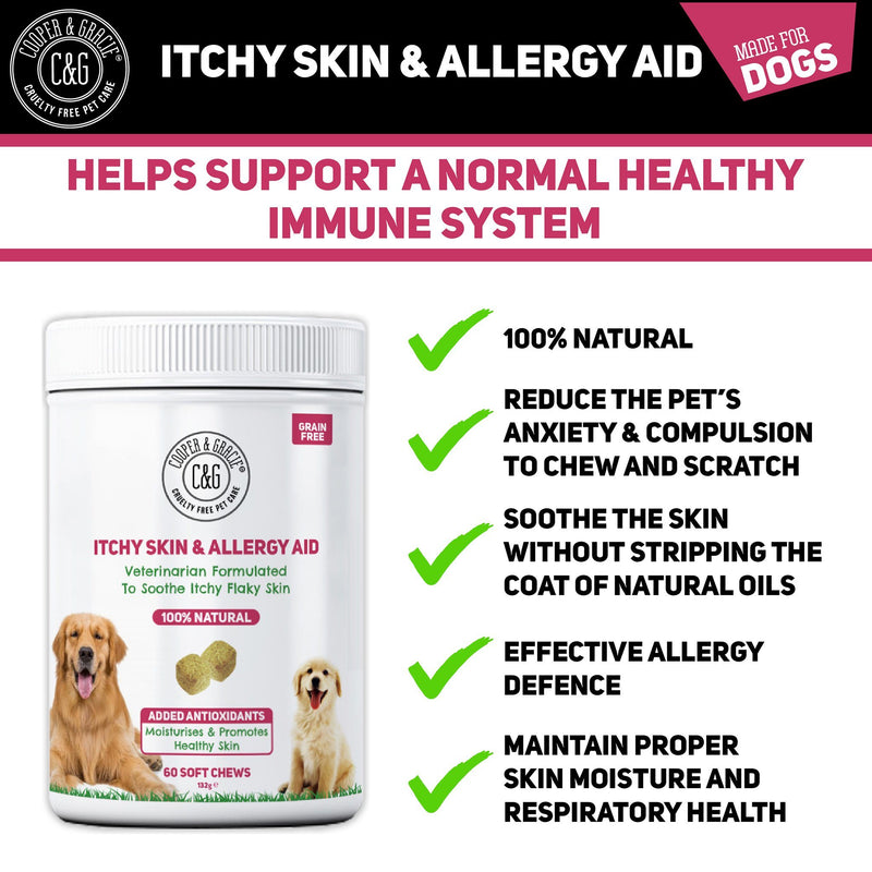 Anti-Itch Supplement for Dogs 60 Soft Chews (4597997895735)