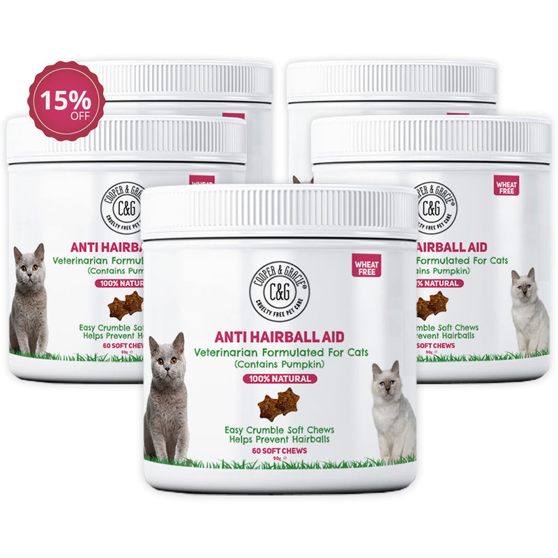 Anti-Hairball Cat Treats