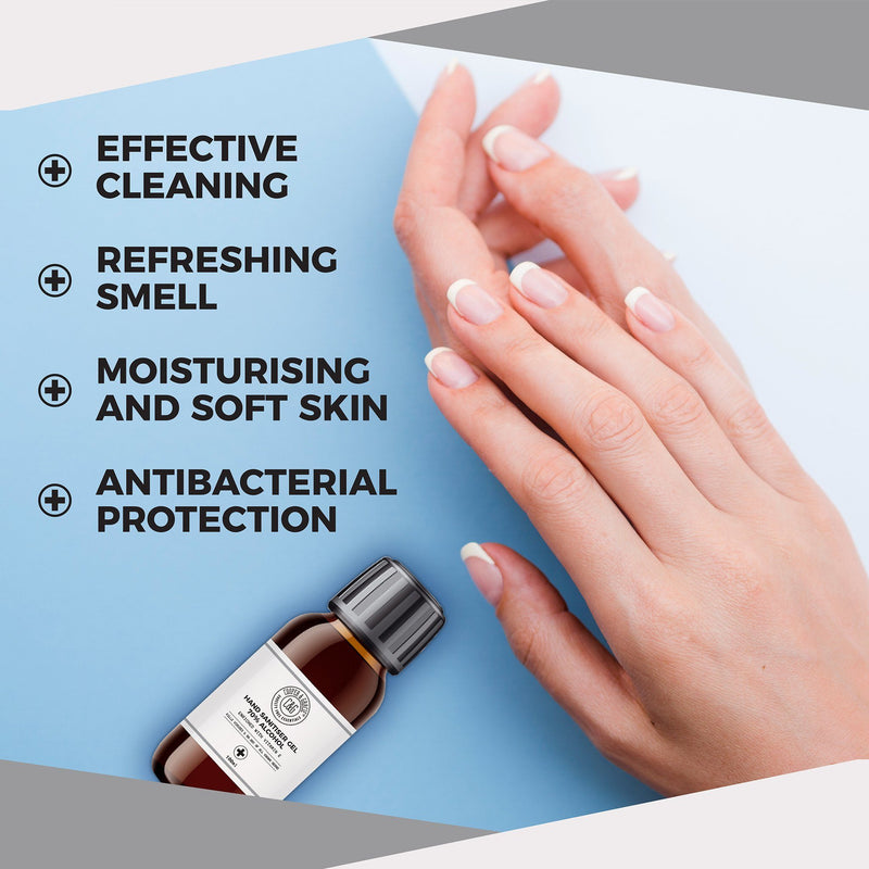 Hand Sanitiser Gel 70% Alcohol (4473985368119)