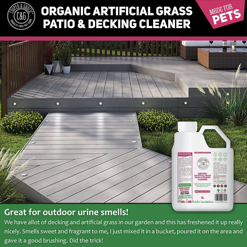 Organic Artificial Grass Patio And Decking Cleaner Destroys Urine Smells (4419954638903)