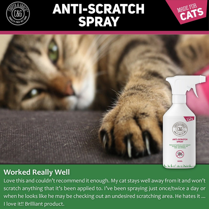Cats‌ ‌Anti-Scratch‌ ‌Spray ‌Protects Furniture Promotes Calmer Cats Sweet Orange‌ (4432834428983)