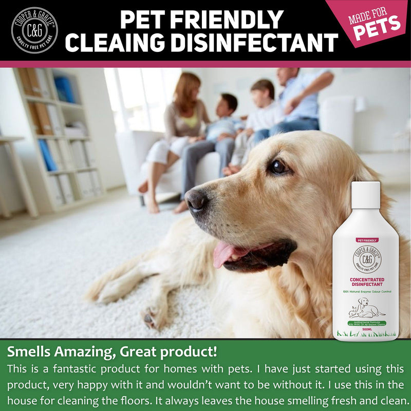 100% Natural Pet Disinfectant And Odour Remover (4445057581111)