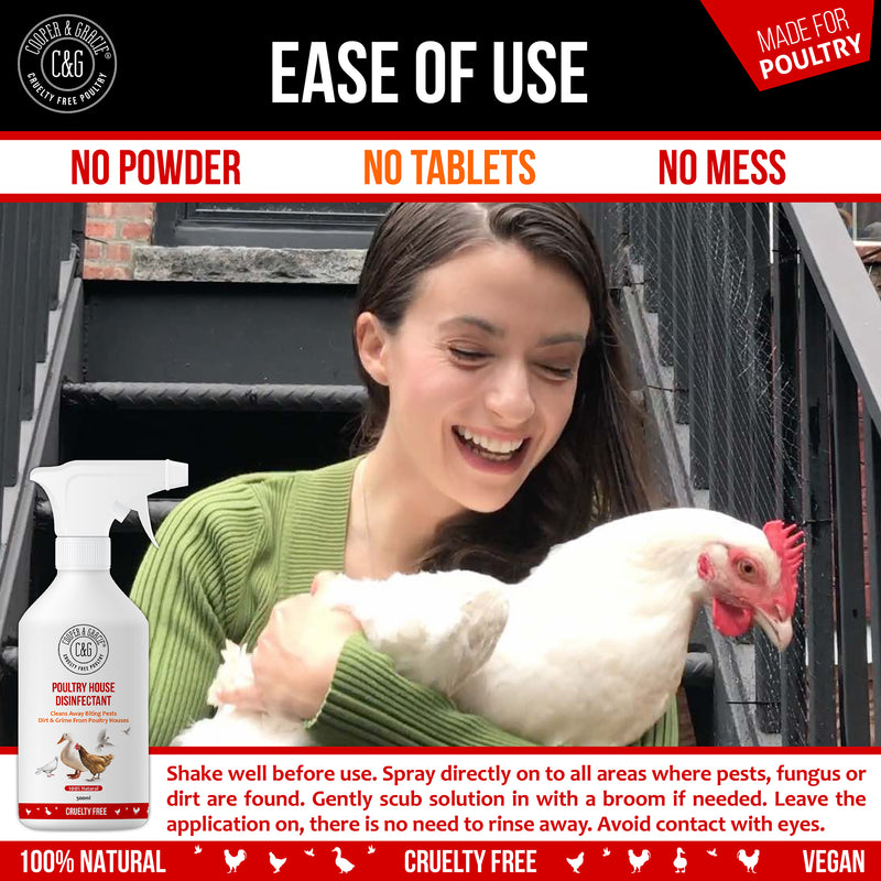 Poultry House Disinfectant Spray