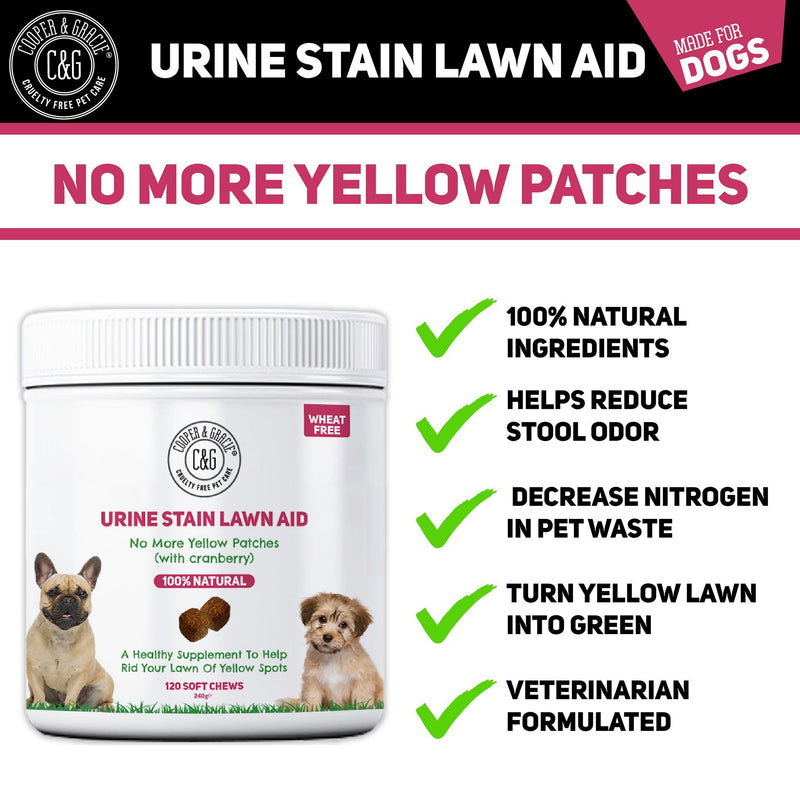 Urine Stain Lawn Aid for Puppies (4597987508279)