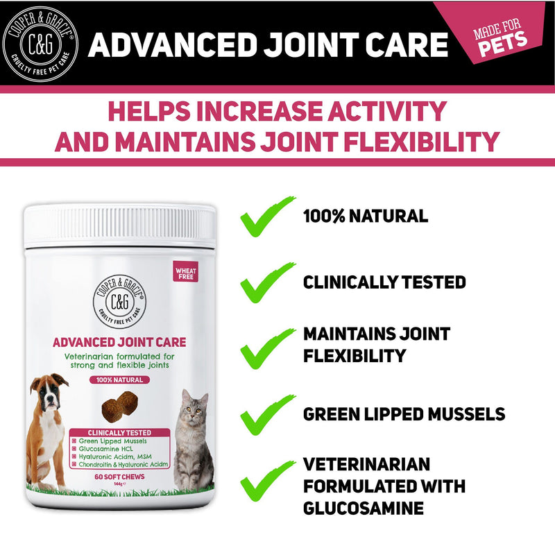 Advanced Joint Support Supplement for Dogs and Cats (4597995896887)