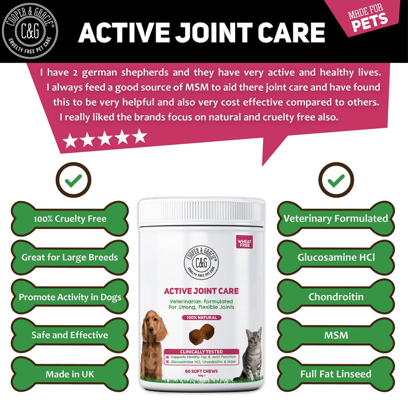Active Joint Supplement for Dogs and Cats (4597995077687)