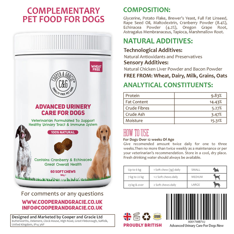 Dog Urinary Health Supplements