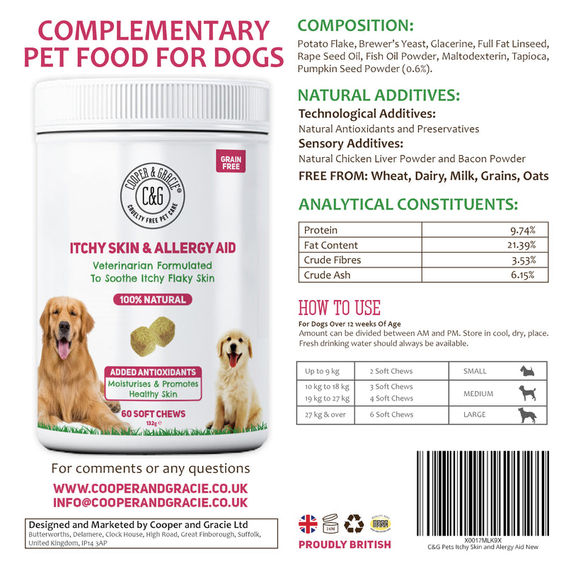 Anti-Itch Supplement for Dogs