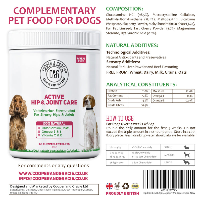 Active Hip and Joint Care for Dogs