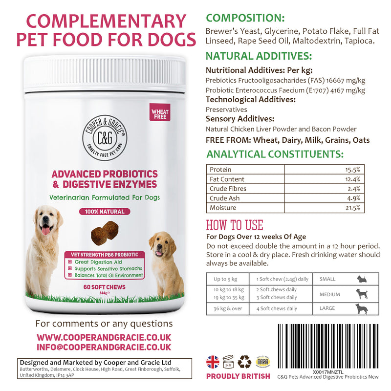 Probiotics for Dogs Supplements
