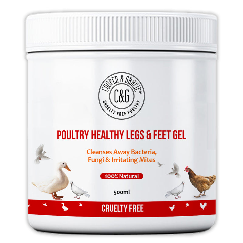 Scaly Legs and Feet Gel for Chickens and Poultry