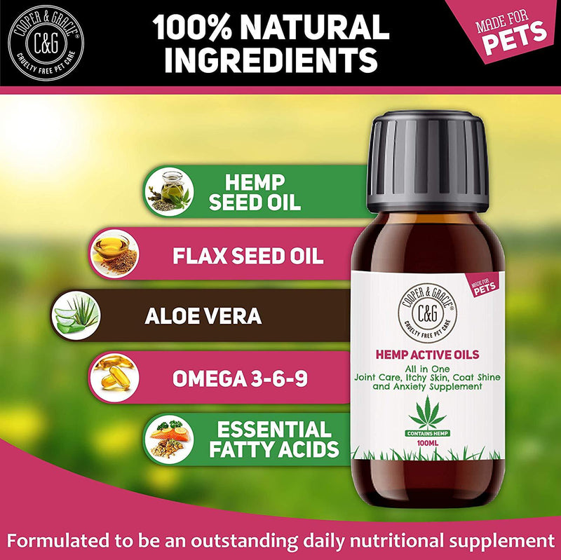 Hemp Pet Oil Supplement for Joints (4432793337911)