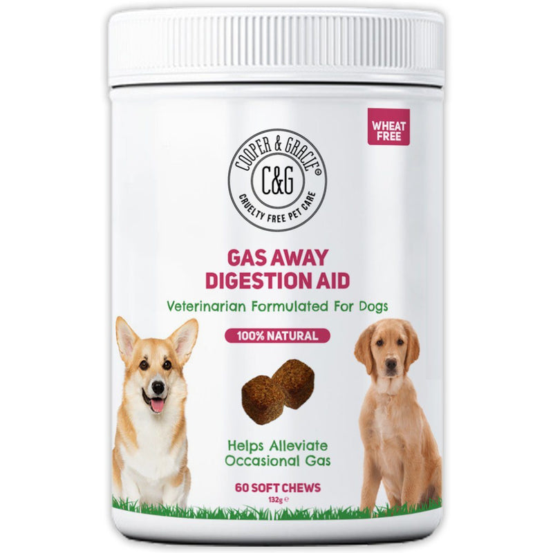 Dog Gas Supplements 60 Soft Chews (4597981904951)