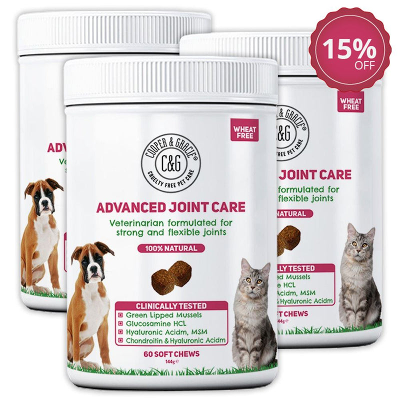 Advanced Joint Support Supplement for Dogs and Cats