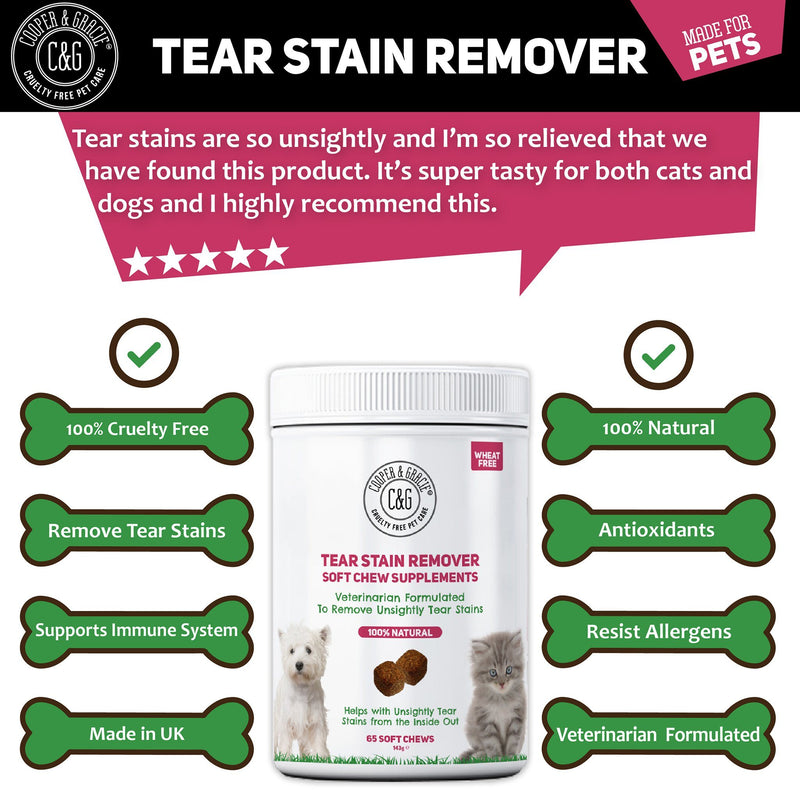 Tear Stain Supplement 65 Soft Chews (4597981708343)