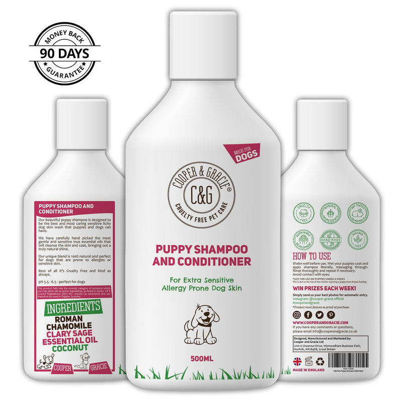 Puppy Shampoo – Anti Itch for Sensitive Skin (4582347800631)