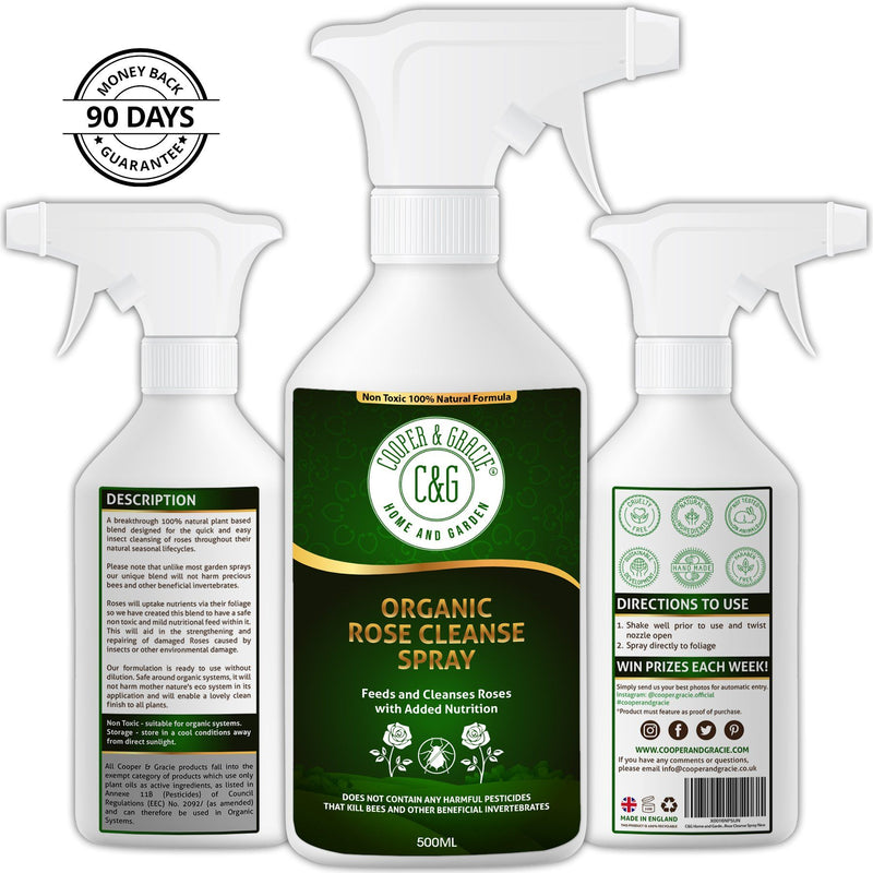 Organic Rose Cleanse Spray Quick Rose Insect Cleansing (4571052638263)