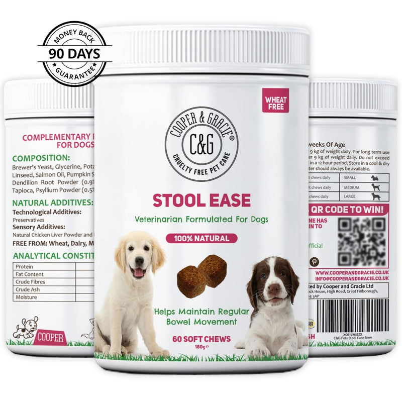 Stool Ease for Dogs 60 Soft Chews (4597991538743)