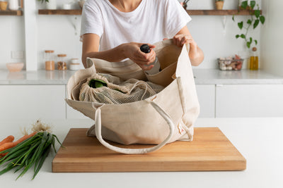 Tote Bag - Jute & Cotton - The Keeper