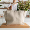 Jute/Organic Cotton Tote Bag - The Keeper