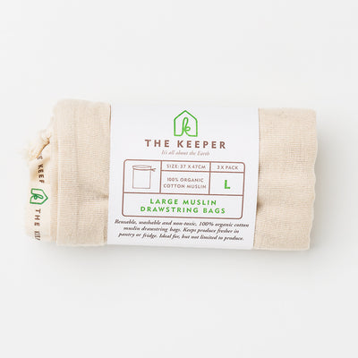 MUSLIN BAG 3-PACK - The Keeper