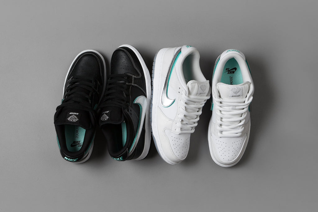 buy online 58bf2 859dc Nike SB x Diamond Dunk Low Pro OG Shoes   Releases.Flatspot