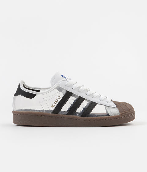Adidas Superstar 80's 'Blondey' Shoes - White / Core Black / Gum