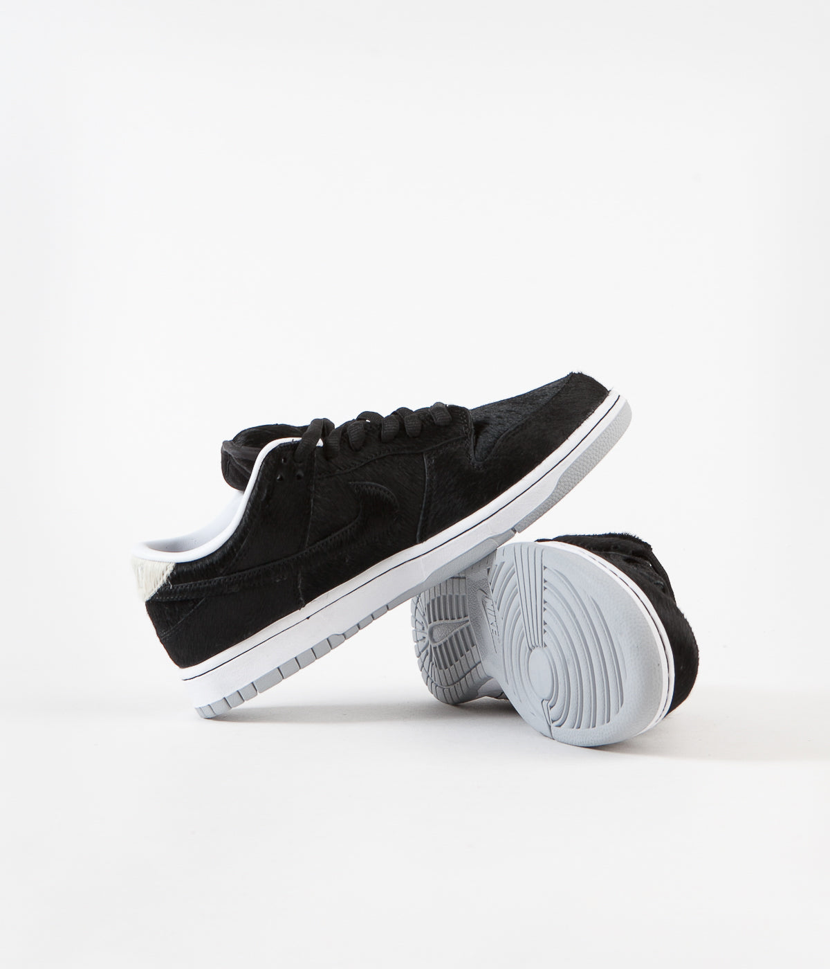Nike SB Dunk Low OG Medicom Shoes - Black / Black - White
