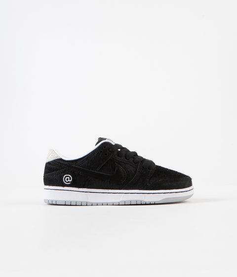 Nike SB Dunk Low Pro Medicom Preschool Shoes - Black / Black - White