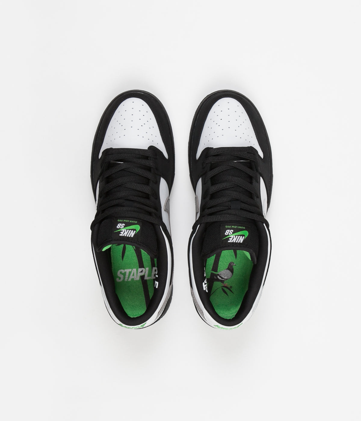official photos b090e 1a1fb Nike SB Dunk Low Pro OG 'Panda Pigeon' Shoes - Black / White ...