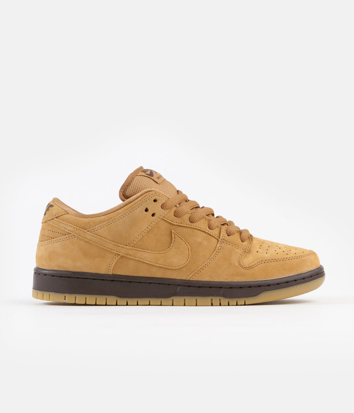 Nike SB Dunk Low Pro 'Wheat' Shoes - Flax / Flax - Flax - Baroque Brown