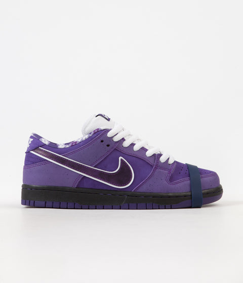 Nike SB x Concepts Dunk Low Pro OG 'Purple Lobster' Shoes - Voltage Purple / Voltage Purple