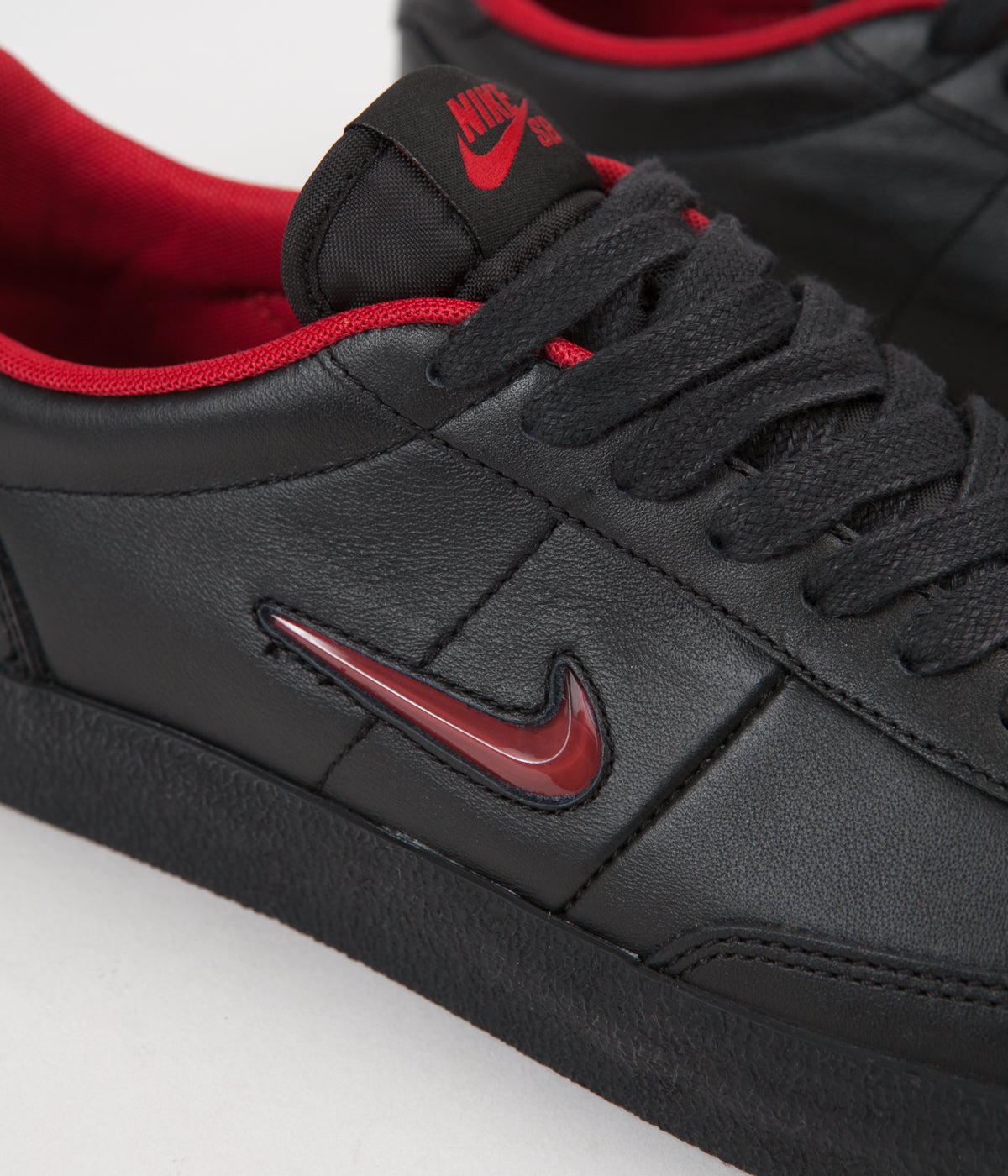 Nike SB x Hockey Killshot 2 QS Shoes - Black / Gym Red / Black